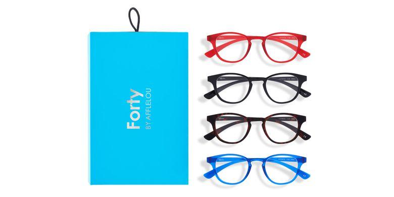 Óculos graduados FORTY PACK AZUL PRÉ GRADUADOS  (DE +1.00 A +3.00) azul