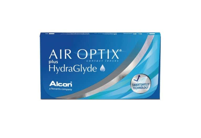Lentilles de contact Air Optix Plus HydraGlyde® 6L