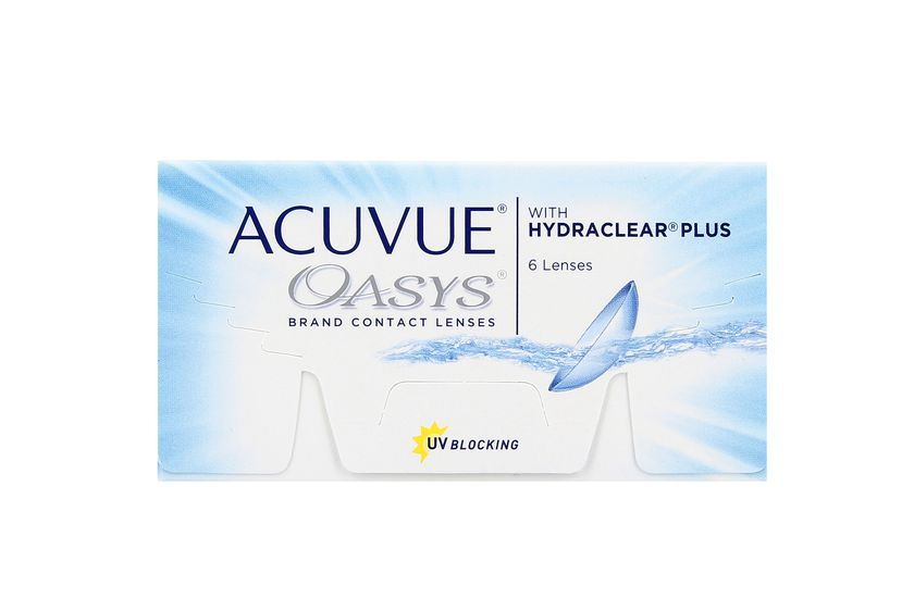Lentilles de contact Acuvue® Oasys® with Hydraclear® Plus 6L - vue de face