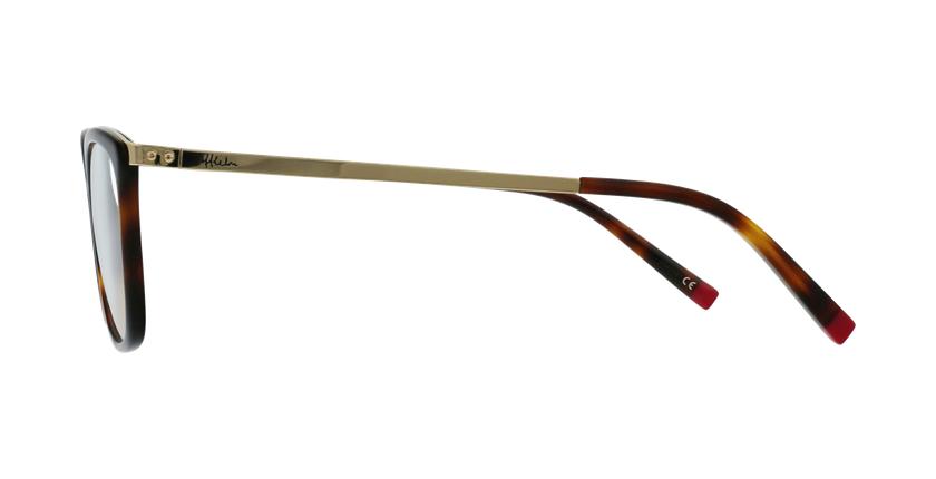 Lunettes de vue femme BEETHOVEN écaille/doré - Vue de côté