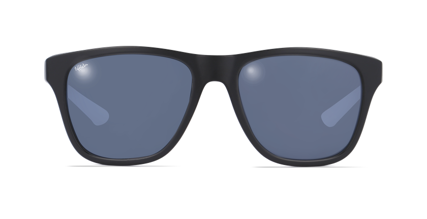 Gafas de sol hombre LORENZO negro - vista de frente