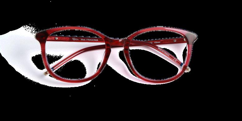 Lunettes de vue femme FRAGONIA rouge