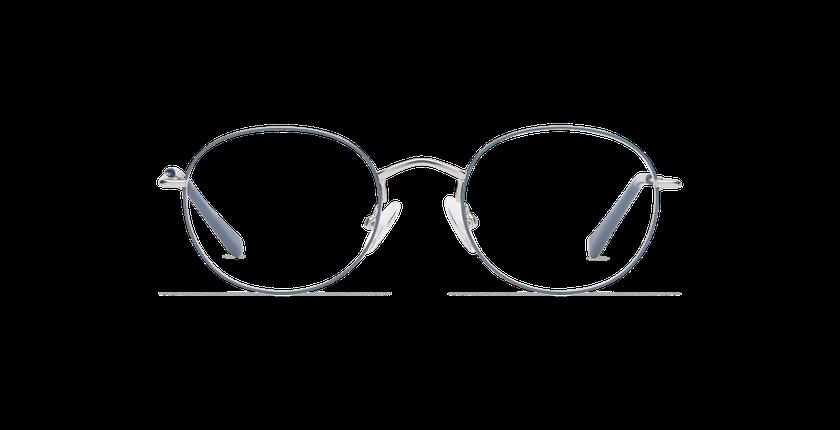 Lunettes de vue MAYSON gris/argenté - Vue de face