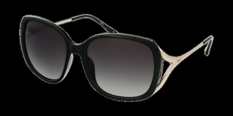 Lunettes de soleil femme ROSALES noir/doré