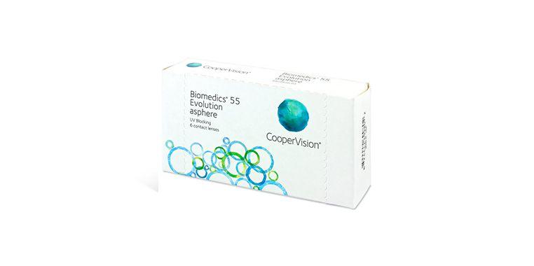 Lentilles de contact Biomedics® Evolution 6L