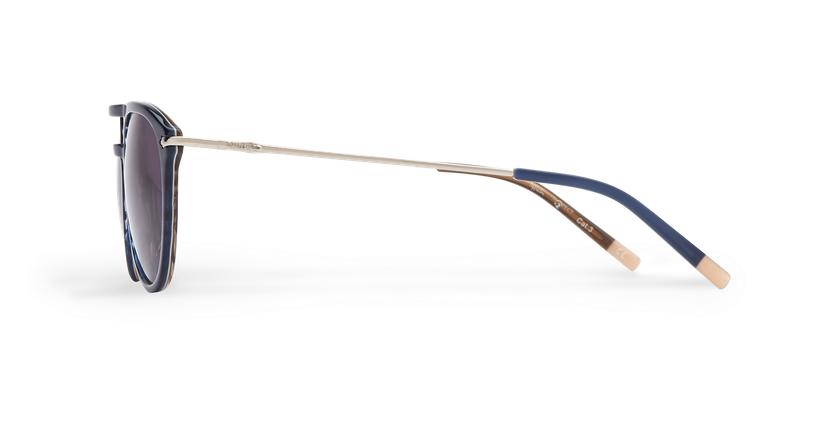 Óculos de sol homem MALTON BL azul/prateado - Vista lateral