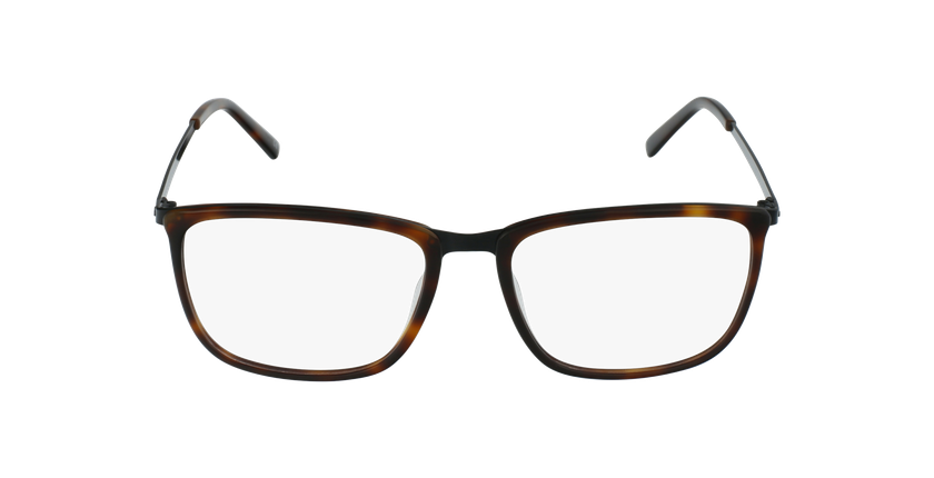Óculos graduados homem WAGNER TO tartaruga  - Vista de frente