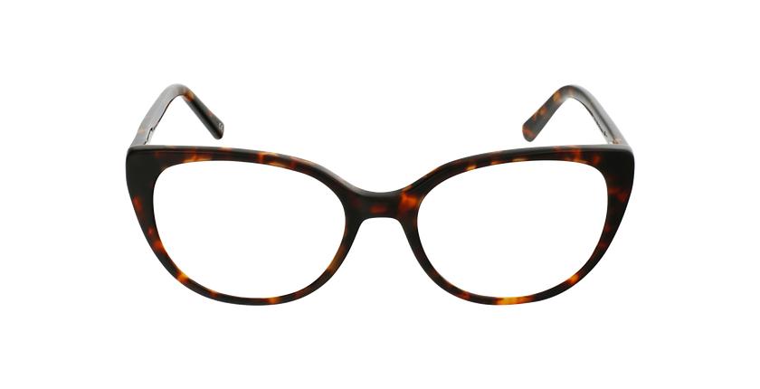 Óculos graduados senhora BERTILLE TO (TCHIN-TCHIN +1€) tartaruga - Vista de frente