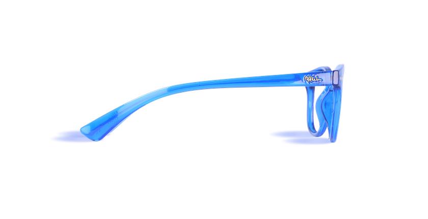 Lunettes de vue enfant BLUE BLOCK ENFANT bleu - Vue de côté