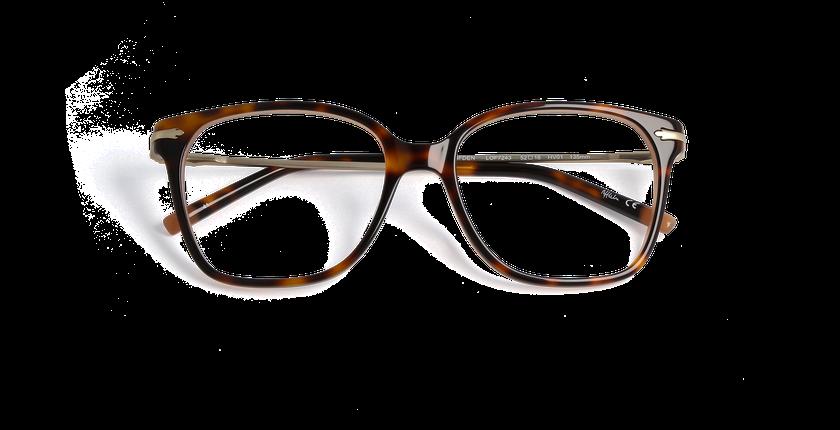 Gafas graduadas mujer CLIFDEN carey/dorado - vista de frente