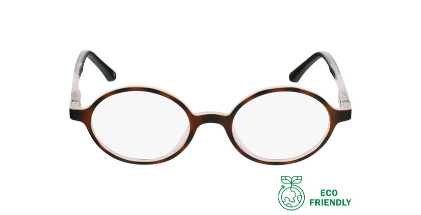 Óculos graduados criança MAGIC 13 TO - ECO FRIENDLY tartaruga /rosa - Vista de frente