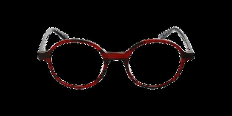 Óculos graduados senhora CAPUCINE RD (TCHIN-TCHIN +1€) vermelhoVista de frente