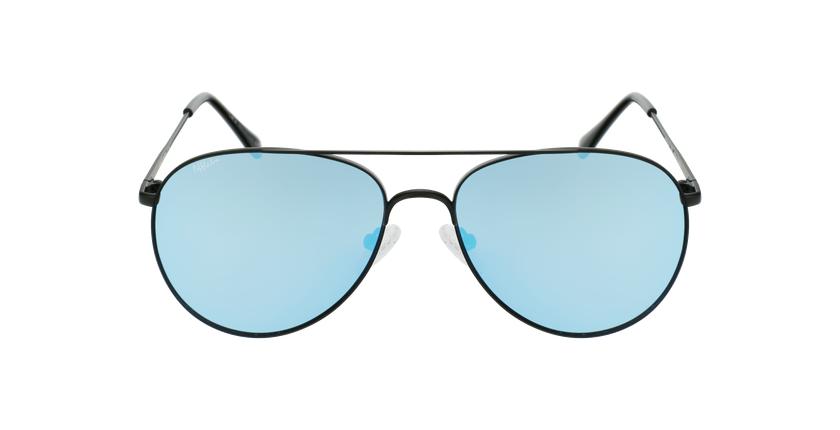 Óculos de sol MUSA BK preto - Vista de frente
