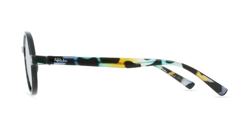 Óculos de sol criança COMO TOGR tartaruga/verde - Vista lateral