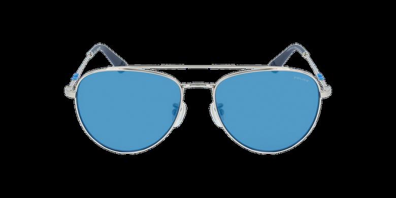 Lunettes de soleil homme SPL995 argenté