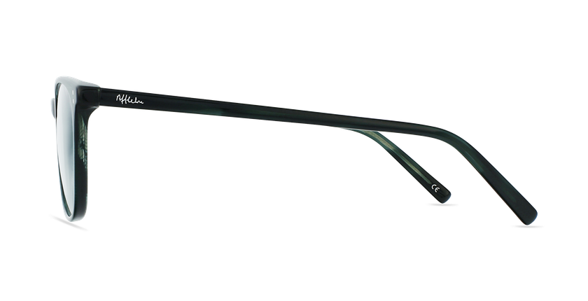 Óculos graduados homem MAXENCE GR (TCHIN-TCHIN +1€) verde - Vista lateral