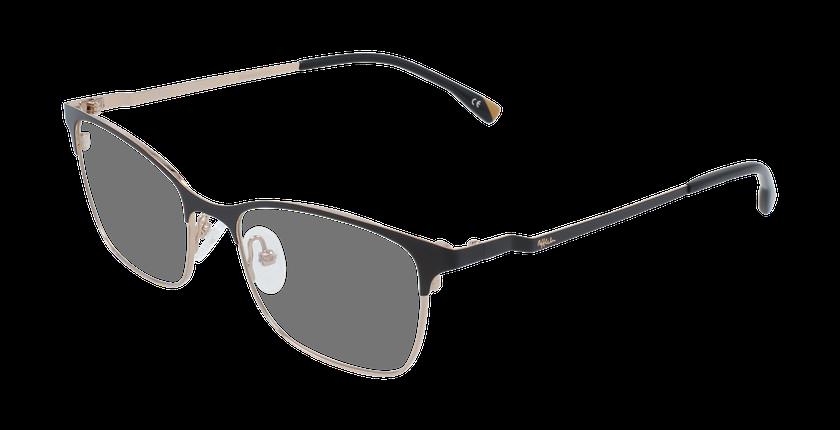 Óculos graduados senhora MAGIC 55 BLUEBLOCK - BLOQUEIO LUZ AZUL preto/dourado - vue de 3/4