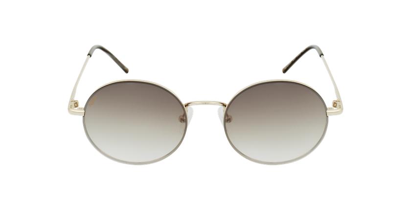 Óculos de sol BERNIA GD dourado - Vista de frente