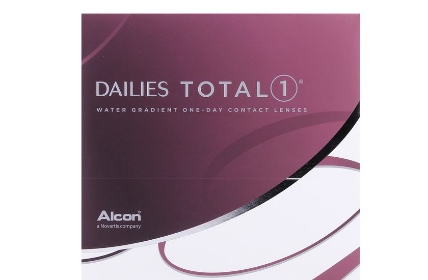 Lentilles de contact Dailies Total 1 90L - vue de face