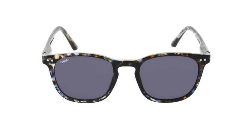 Óculos de sol criança VALME TOBL tartaruga/azul - Vista de frente