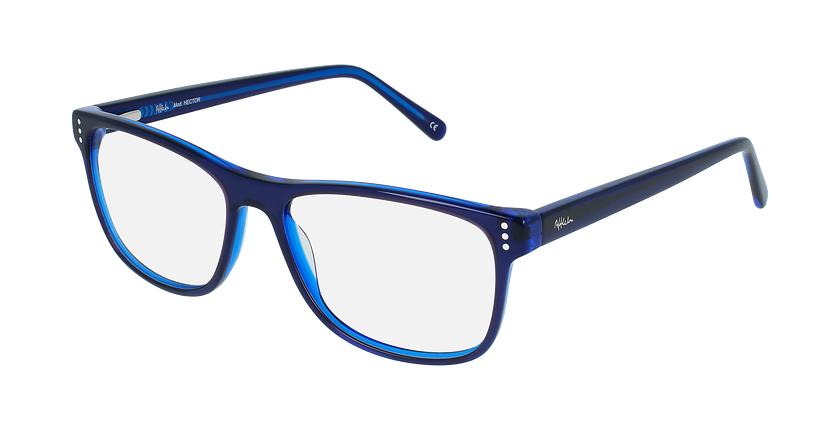 Óculos graduados homem HECTOR BL (TCHIN-TCHIN +1€) azul - vue de 3/4