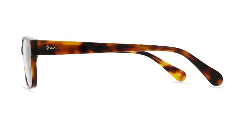Óculos graduados senhora LYS TO (TCHIN-TCHIN +1€) tartaruga - Vista lateral