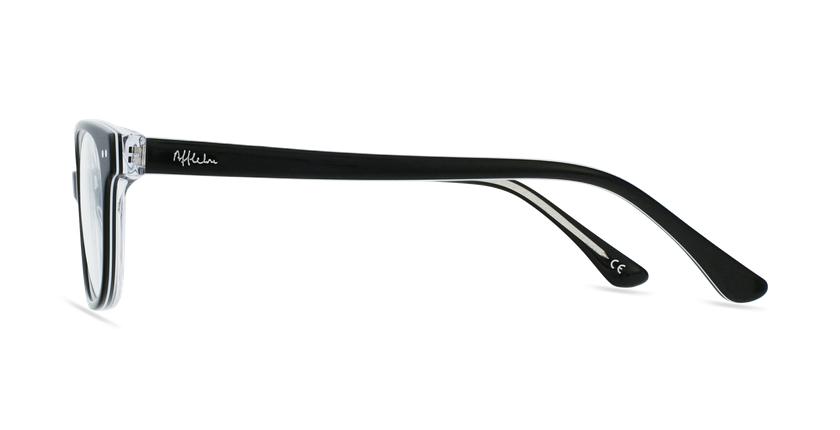 Óculos graduados criança MARCEL BK (TCHIN-TCHIN +1€) preto - Vista lateral