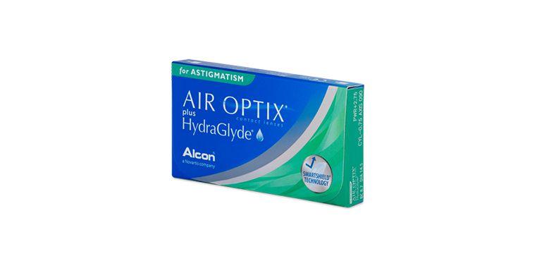 Lentilles de contact Air Optix Plus Hydraglyde For Astigmatism 3L