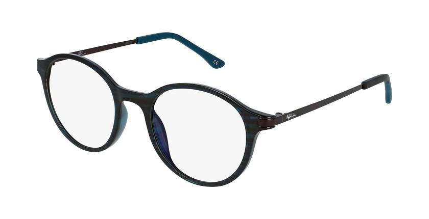 Óculos graduados senhora MAGIC 37 GR BLUEBLOCK - BLOQUEIO LUZ AZUL verde - vue de 3/4
