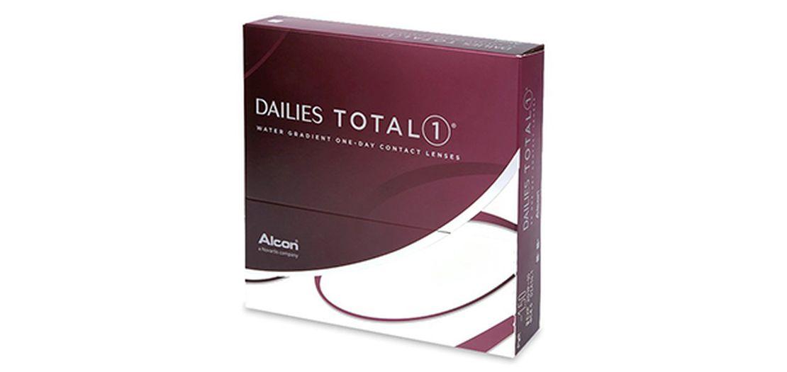 Lentes de contacto Dailies Total 1 90L