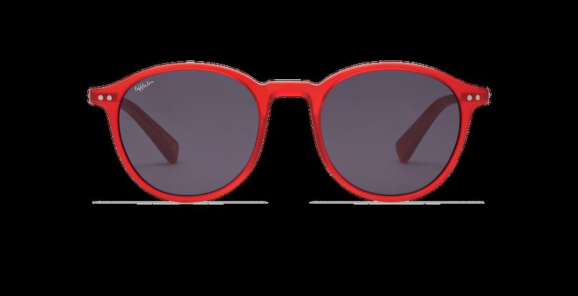Gafas de sol mujer ALEGRIA rojo - vista de frente