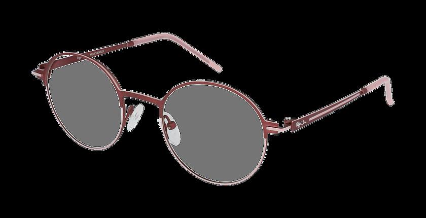 Lunettes de vue femme VENUS rouge/rose - vue de 3/4