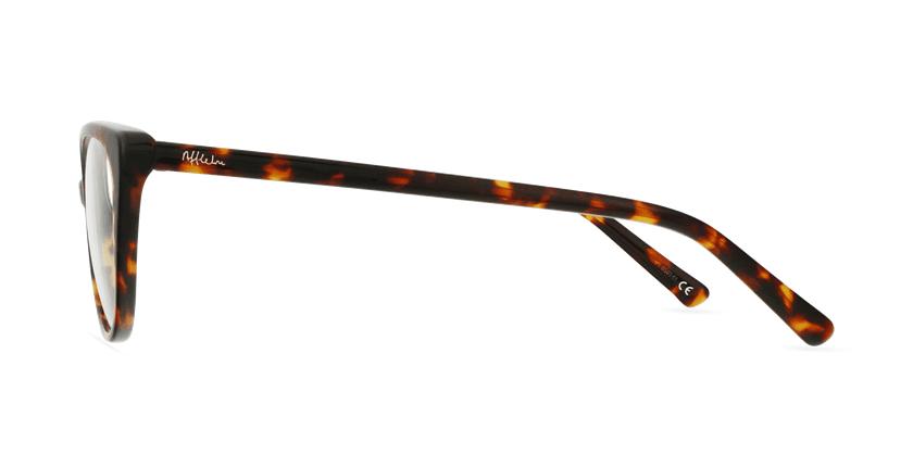 Óculos graduados senhora BERTILLE TO (TCHIN-TCHIN +1€) tartaruga - Vista lateral