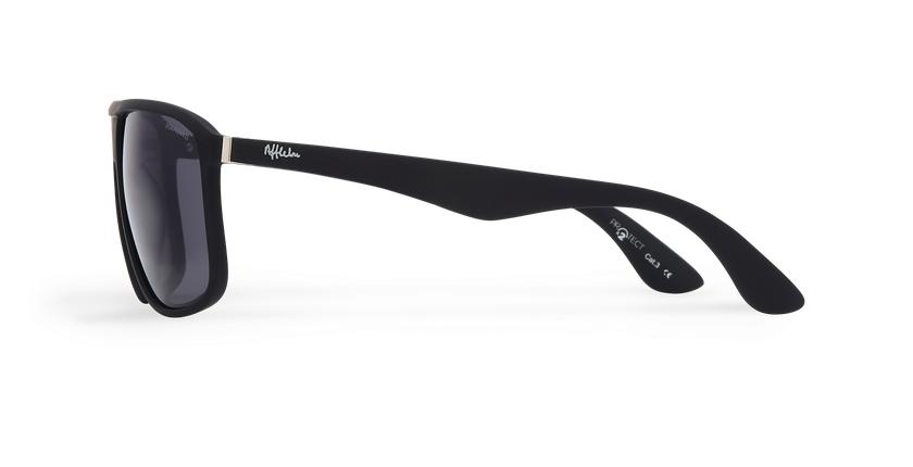 Óculos de sol homem LANCIANO POLARIZED preto - Vista lateral