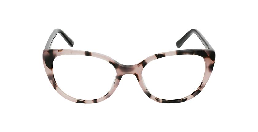 Óculos graduados senhora BERTILLE PK (TCHIN-TCHIN +1€) rosa - Vista de frente
