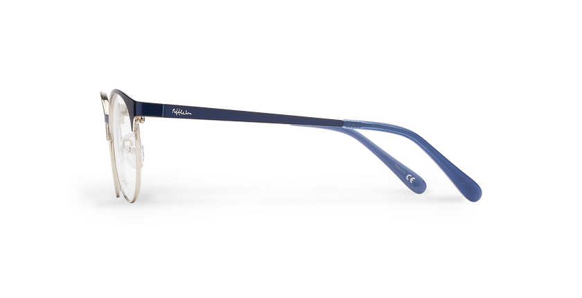 Óculos graduados criança AYLA BL  (Tchin-Tchin +1€) azul/prateado - Vista lateral