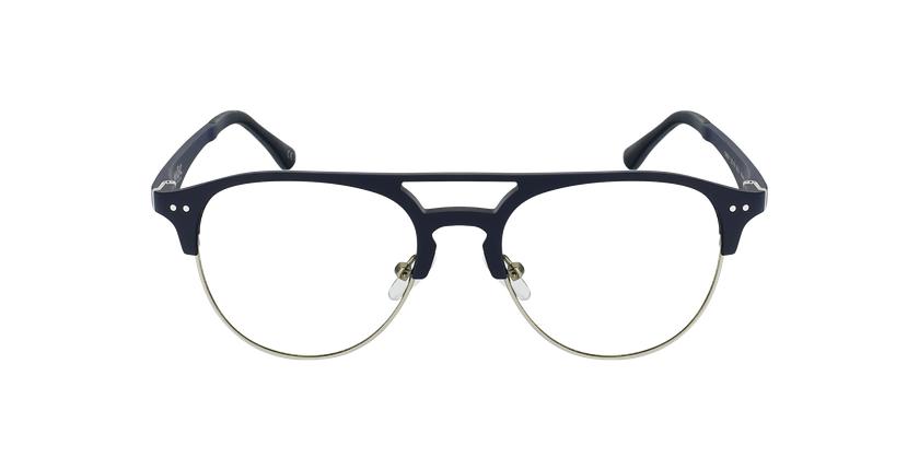 Óculos graduados homem MAGIC 91 BL ECO FRIENDLY azul/prateado - Vista de frente