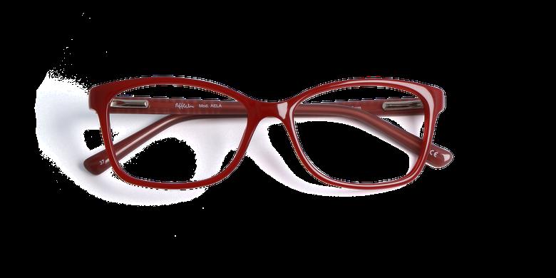 Lunettes de vue femme AELA rouge