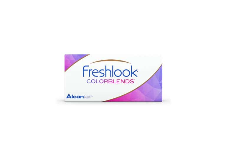 Lentilles de contact FreshLook ColorBlends Brown 2L