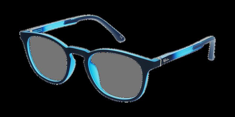 Óculos graduados criança MAGIC 79 BL - ECO FRIENDLY azul/turquesavue de 3/4