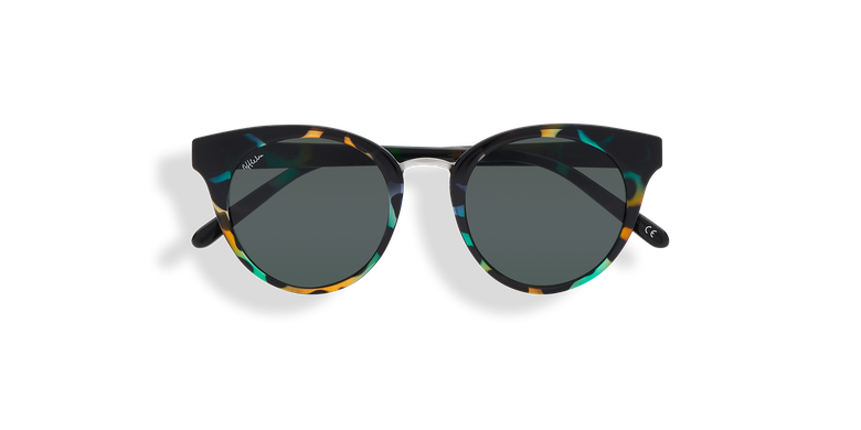 Óculos de sol senhora MAUD (Tchin-Tchin +1€) tartaruga /verde