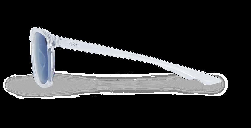 Lunettes de soleil enfant LAYO blanc - Vue de côté