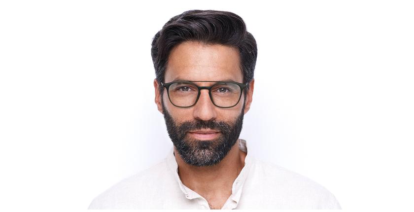Óculos graduados homem MAGIC 71 GY cinzento/verde - Vista de frente