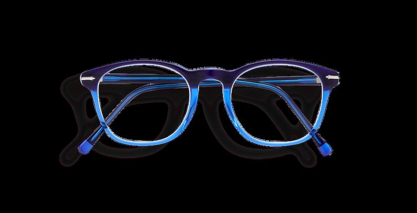 629149beeb5f8 ... Óculos graduados homem LONGCHAUMOIS azul - Vista de frente ...