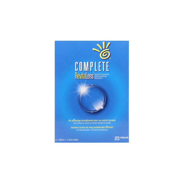 Complete Revitalens 2x360 ml