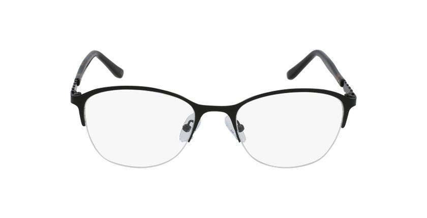 Lunettes de vue femme OAF20525 noir - Vue de face
