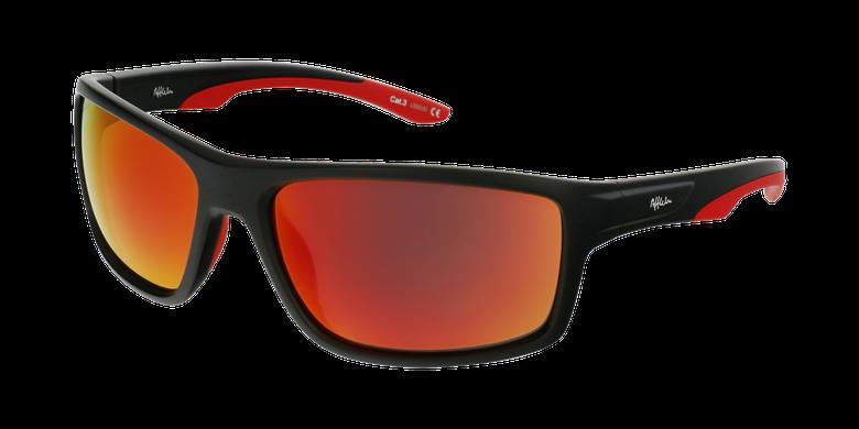 Lunettes de soleil homme IGOR noir/rouge