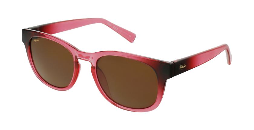 Óculos de sol criança POROMA PK rosa - vue de 3/4