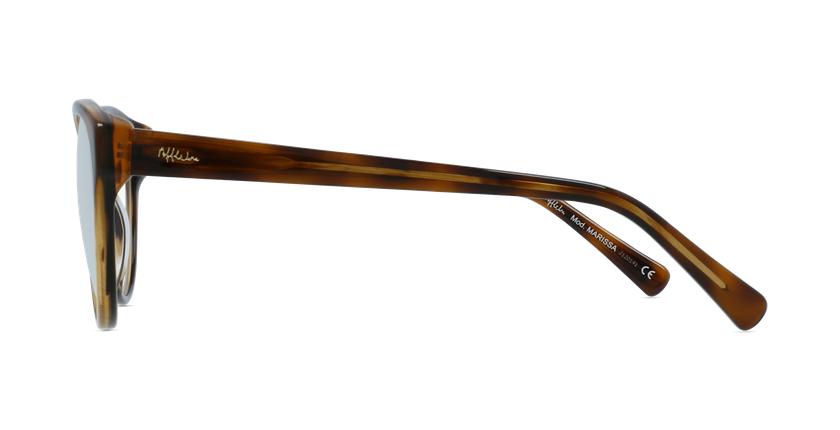 Óculos graduados senhora OAF20521 TO (TCHIN-TCHIN +1€) tartaruga  - Vista lateral