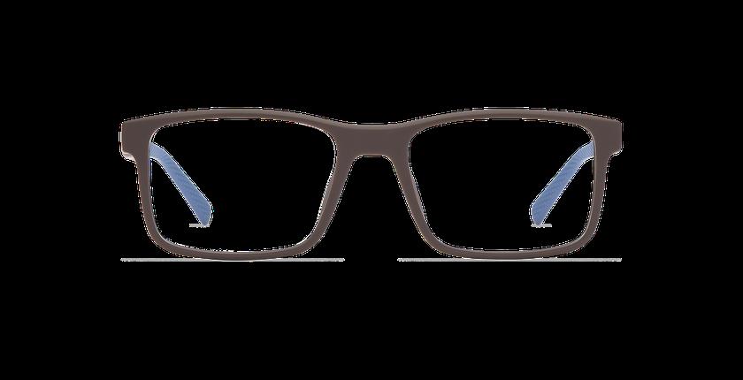 Lunettes de vue homme ACE marron/bleu - Vue de face